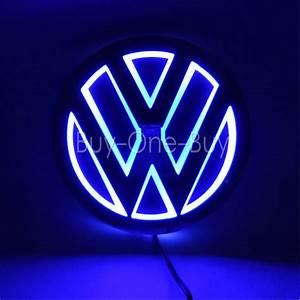 5D Reflective LED LOGO Emblem Badge Decal Sticker Lights ...