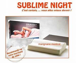 Oreiller Cervical Memoire De Forme : oreiller m moire de forme sublime night oreiller cervical ~ Melissatoandfro.com Idées de Décoration