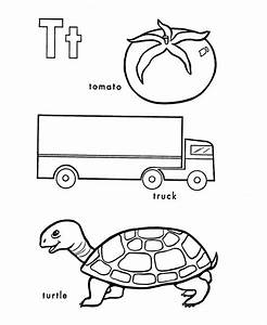 ABC Primary Coloring Activity Sheet | Letter T is for ...