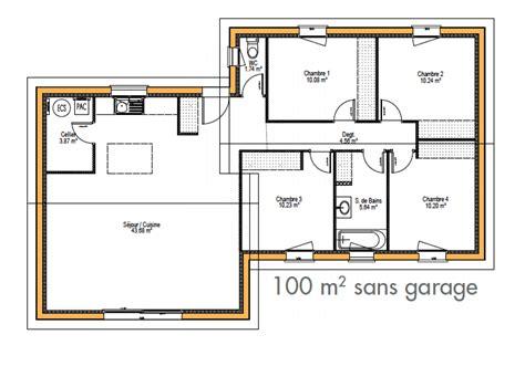 modele plan de maison individuelle gratuit maison moderne