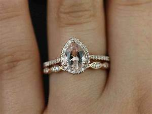 Rose gold wedding band with platinum engagement ring for Rose gold engagement ring and wedding band