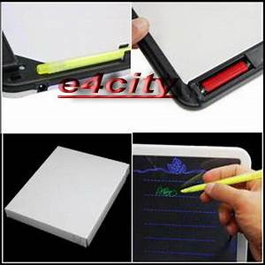 fice Light up Clear Neon Board for Memo Message