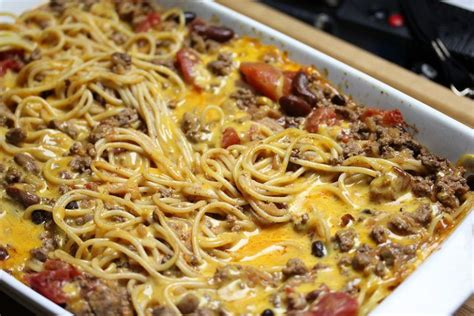 This recipe is simple and delicious and doesn't take that long to prepare. Chili Spaghetti Casserole | Recipe | Chili spaghetti, Recipes, Spaghetti casserole