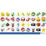 Kart Mario Deluxe Icons Spriters Resource Sprites