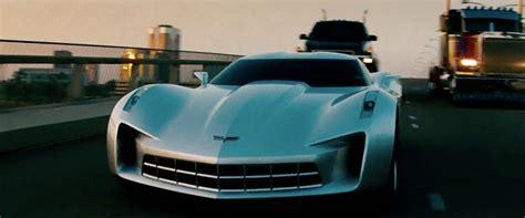 chevrolet corvette stingray concept car  transformers