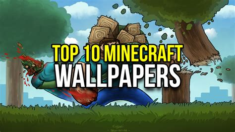 best thumbnail top 10 minecraft wallpapers minecraftrocket