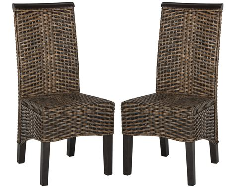 Safavieh Dining Chair by Safavieh Ilya Wicker Dining Chair Ebay