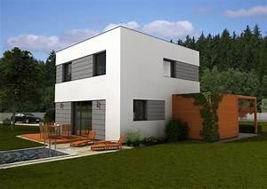 Moderní domy s plochou střechou
