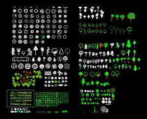 Vegetation, Trees, Plants, Bushes & Shrubs Library in 2D