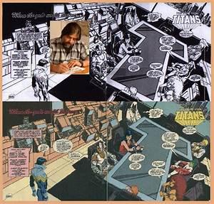 Teen Titans Masterpieces Original Art Interior Page ...