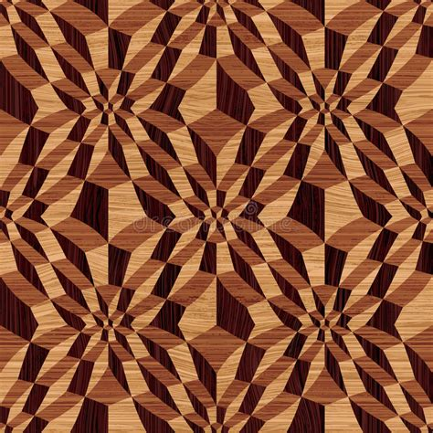 wooden geometric pattern stock vector illustration