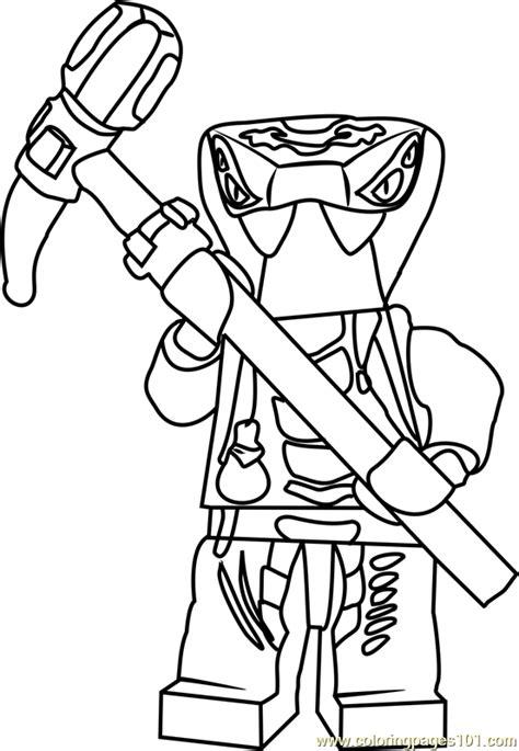 ninjago spitta coloring page  lego ninjago coloring