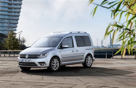 volkswagen caddy vw unveils fourth generation caddy van carscoops