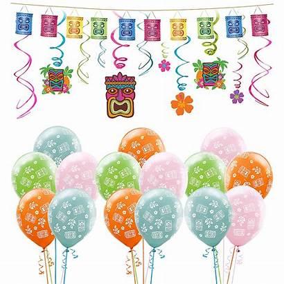 Tiki Kit Party Balloons Luau Decorating Decorations