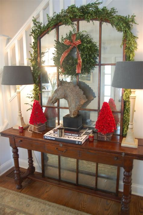 stupefying rustic console table decorating ideas