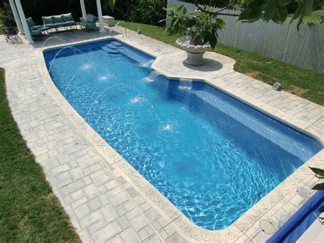 images of inground pools fiberglass pools