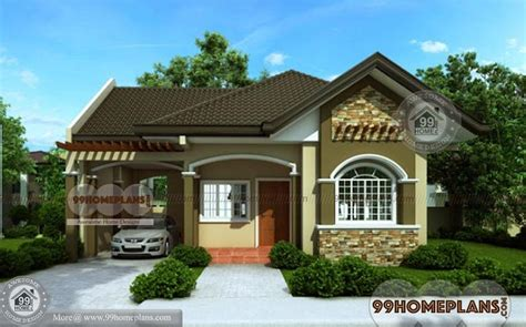 bungalow house designs best home plan elevation one story simple