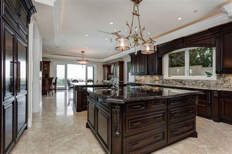 dark cabinets light countertops backsplash 35 luxury kitchens with dark cabinets design ideas