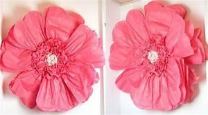 Papierblumen Aus Servietten : diy riesen papierblumen basteln hochzeitsportal24 ~ Yasmunasinghe.com Haus und Dekorationen