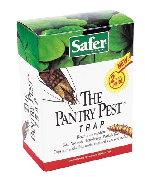 Safer Brand 05140 The Pantry Pest Trap Ready To Use Moth