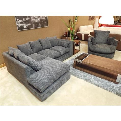 Corner Chair With Ottoman by Corner Sofa And Swivel Chair Dfs Ripple Leather Corner