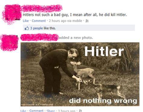 facebook   hitler   wrong