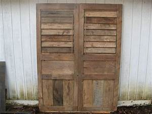 14 best images about reclaimed wood on pinterest shutter for Barnwood shutters