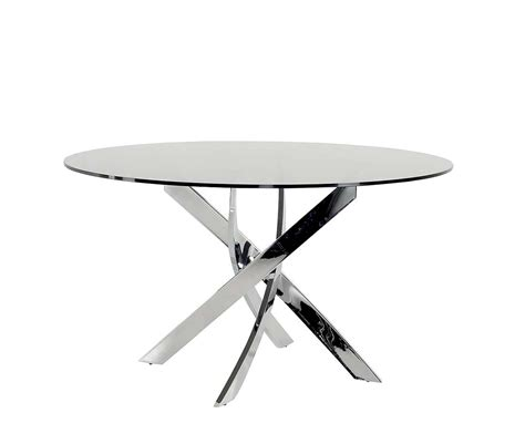 smoked glass dining table smoked glass round dining table vg087 modern dining