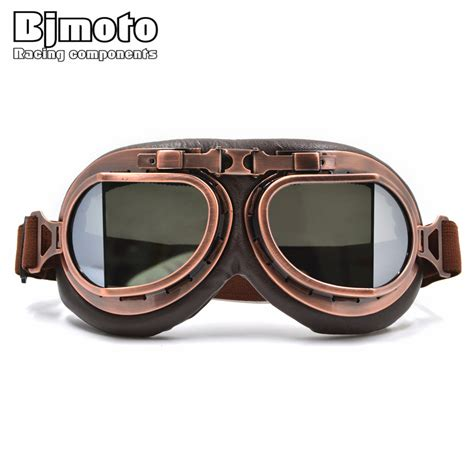 motocross goggles for glasses vintage helmet motocross goggles clear ᗑ steunk