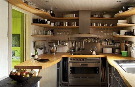 cuisines ouvertes avec bar la cuisine rustique ou l 39 harmonie de la déco et bois