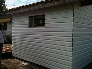 Pose de bardage pvc exterieur par atb renovation for Pose lambris pvc exterieur