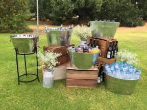 rustic wedding ideas best 25 drink station wedding ideas only on