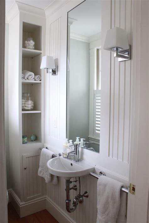 beadboard bathroom cottage bathroom molly frey design