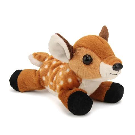 hug ems small deer fawn stuffed animal by wild republic