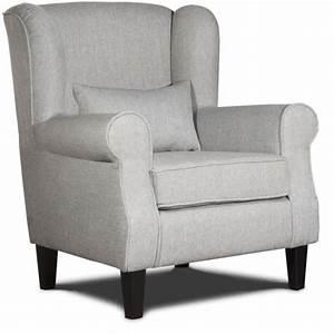 Petit Fauteuil Confortable : fauteuil confortable en tissu gris prince achat vente fauteuil gris cdiscount ~ Teatrodelosmanantiales.com Idées de Décoration