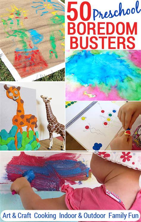 50 preschool boredom busters printable play planner 788 | 50 Preschool boredom buster activity ideas