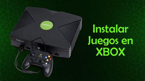 instalar juegos en el disco duro de  xbox clasico youtube