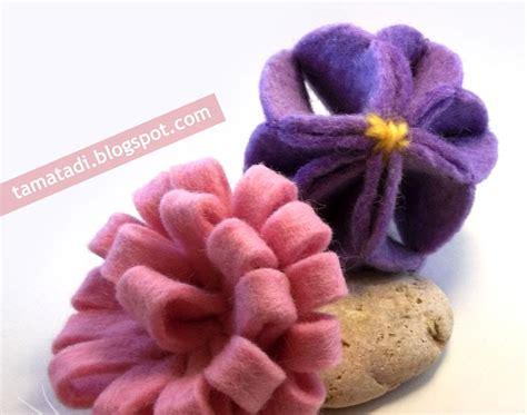 come creare fiori feltro tamatadi fiori di feltro 232 facile creare