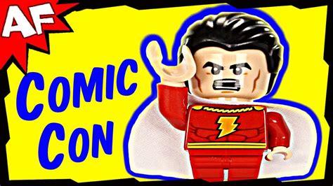Shazam Captain Marvel Exclusive Minifigure Lego Dc Super