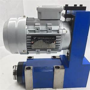 2500rpm Bt30 Power Head Spindle Unit   1 5kw 2hp Induction
