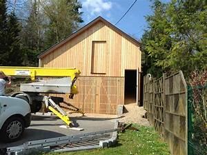 Hangar de rangement en bois ABT Construction Bois