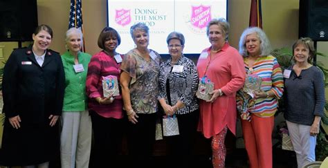 salvation army womens auxiliary hosts spring luncheon