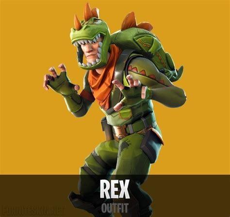 fortnite rex outfit fortnite skins scoop
