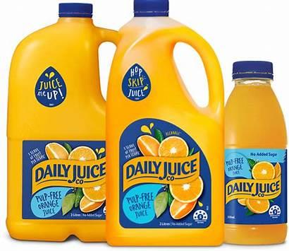 Pulp Orange Juice Daily