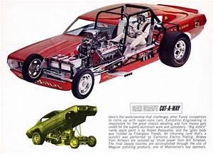 Funny Car Cutaway Diagram