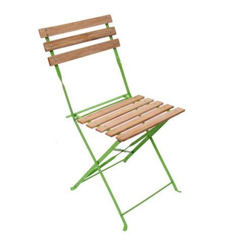 chaise pliante en bois chaise de jardin brasserie terrasse pliante bois métal