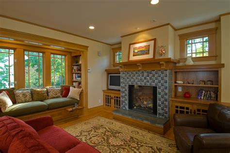craftman style home plans craftsman style fireplace family room craftsman with arts