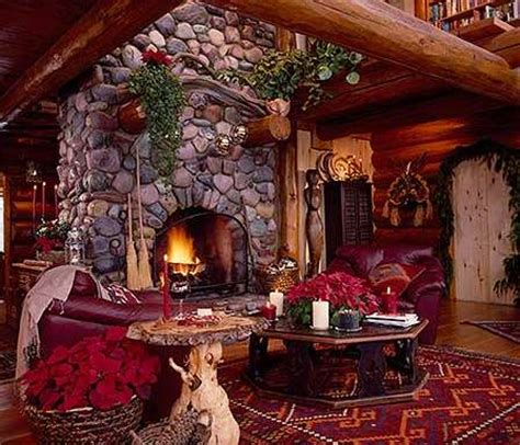 christmas decorating fireplace tips create cozy cabin hearth
