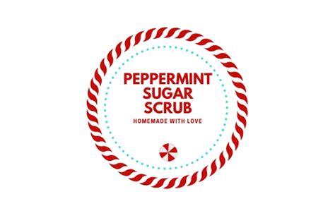homemade peppermint sugar scrub  uncommon slice