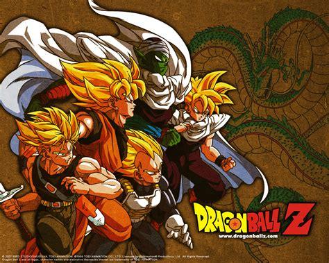 Hd Dragon Ball Z Desktop Wallpapers Free Download